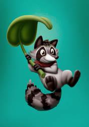 Raccoon Leaf