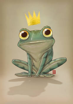 Frog sketch