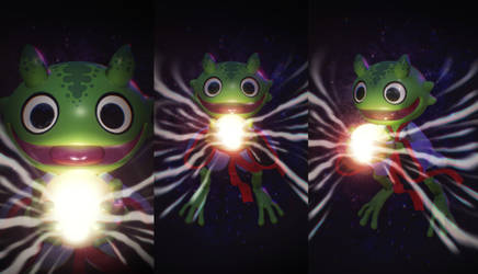 Cosmic Froggy