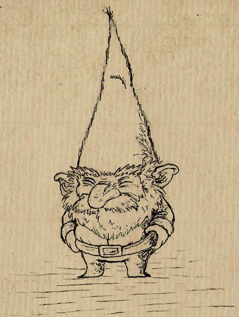 Gnome Sketch by IgorSan