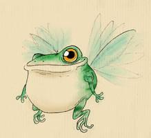 Froggie again by IgorSan