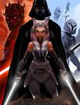 Star Wars - Darth Maul, Darth Vader, Storm Trooper