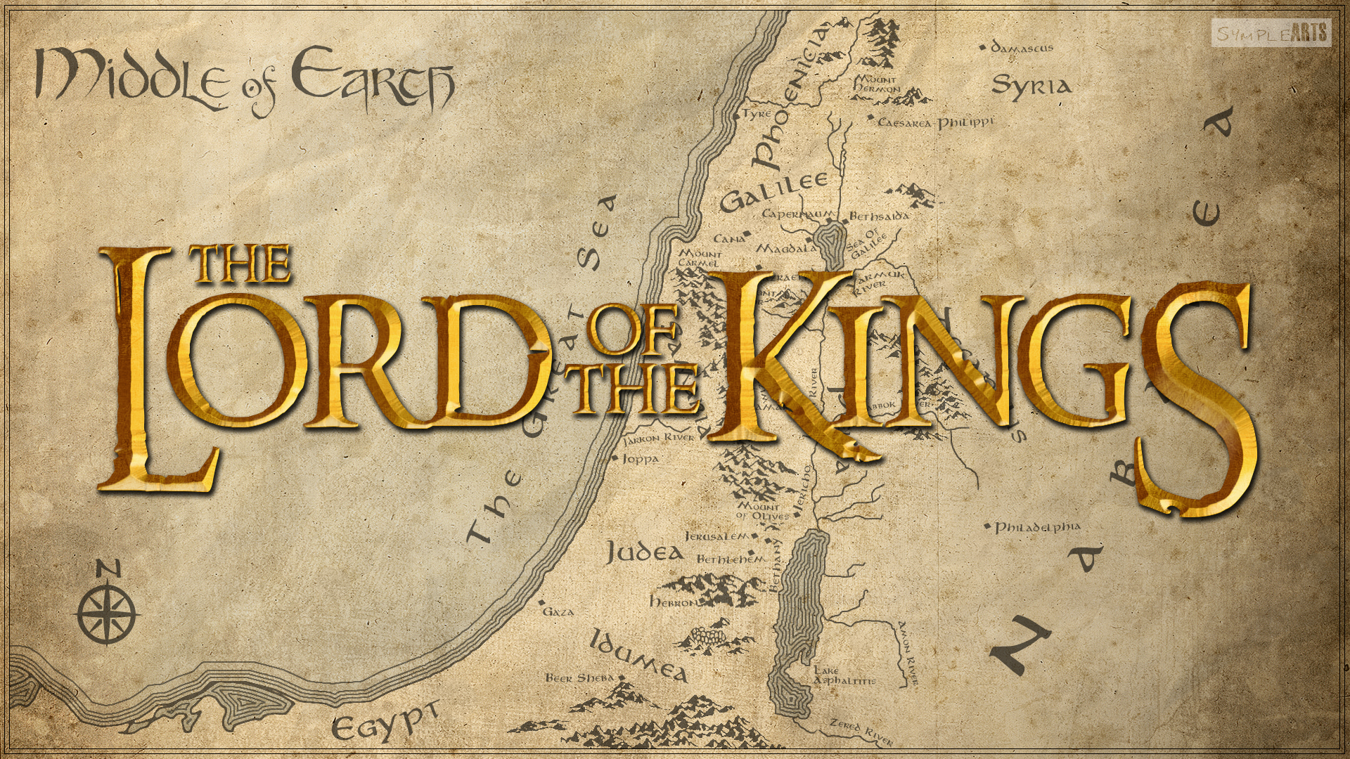 The Lord Of The Kings- Revelation 19:16 by SympleArts