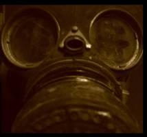 gas mask by nigelleitch