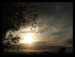 sunset by nigelleitch
