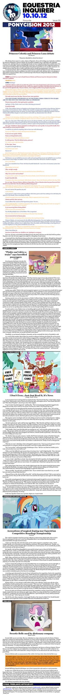 Equestria Inquirer 54 by JoeStevensInc