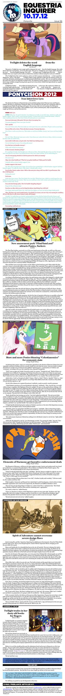 Equestria Inquirer 56 by JoeStevensInc