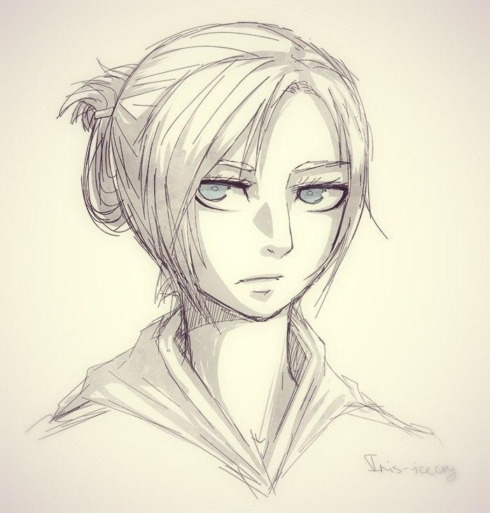 Shingeki no Kyojin: Annie Leonhardt by Iris-icecry