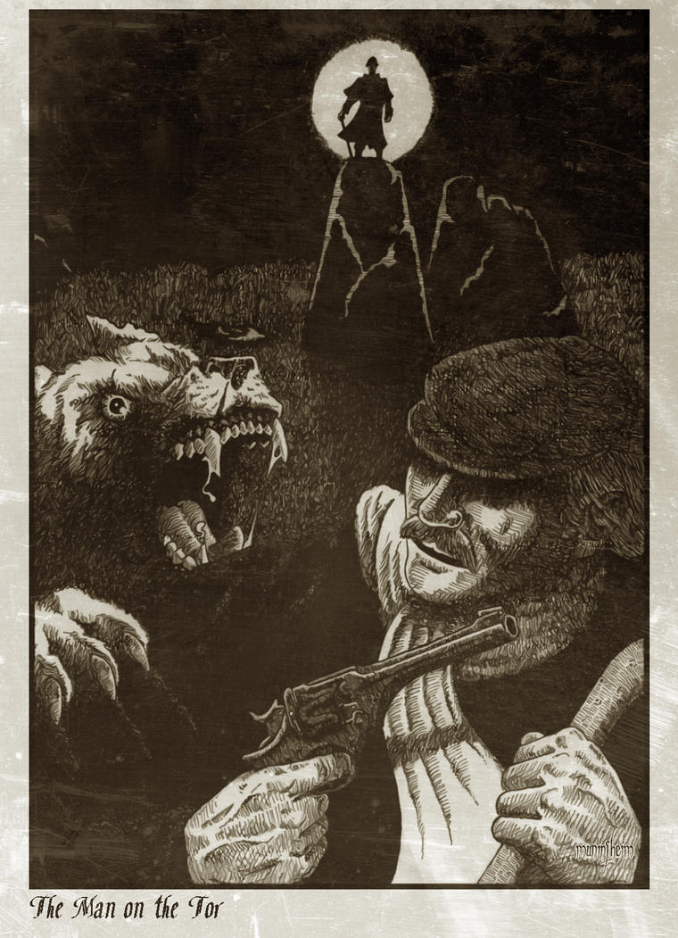 Sherlock Holmes - The Hound of the Baskervilles by Muninsheim