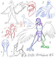 2020 Sketchdump #5
