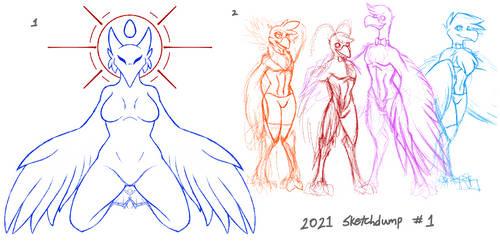 2021 Sketchdump #1