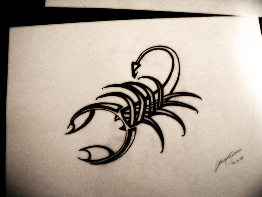 Scorpion tattoo 1 by she rocks on deviantart for Clean rock one tattoos