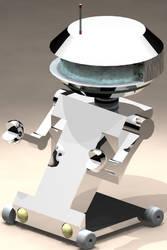My Dumb Little Robot by Swordsy005