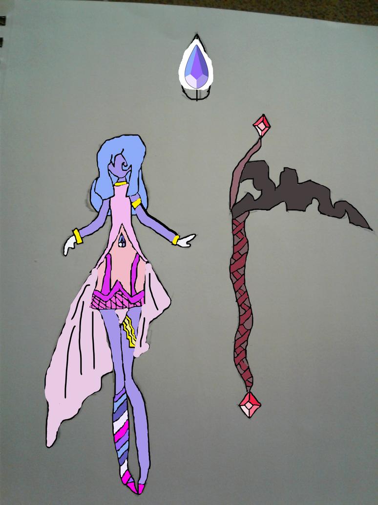 BiColor Sapphire by RainbowSapphireGem