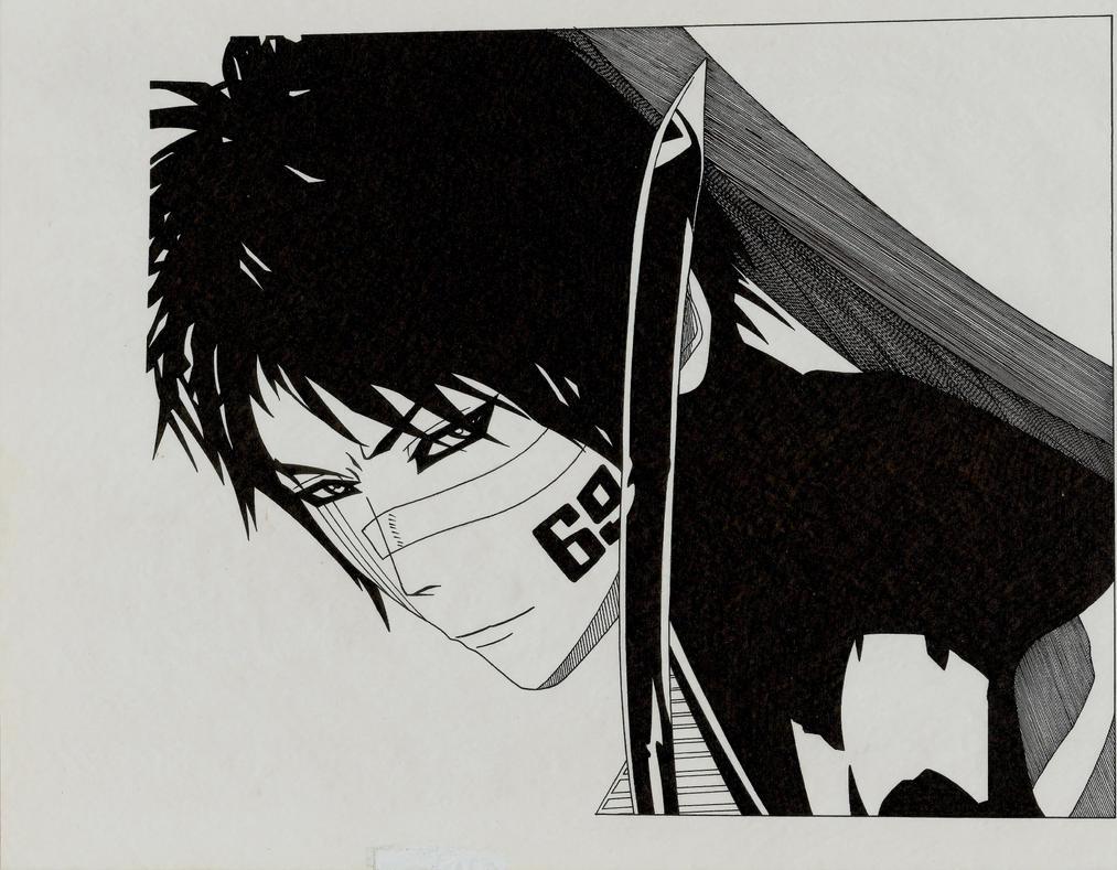 Hisagi by skyuuketsuki