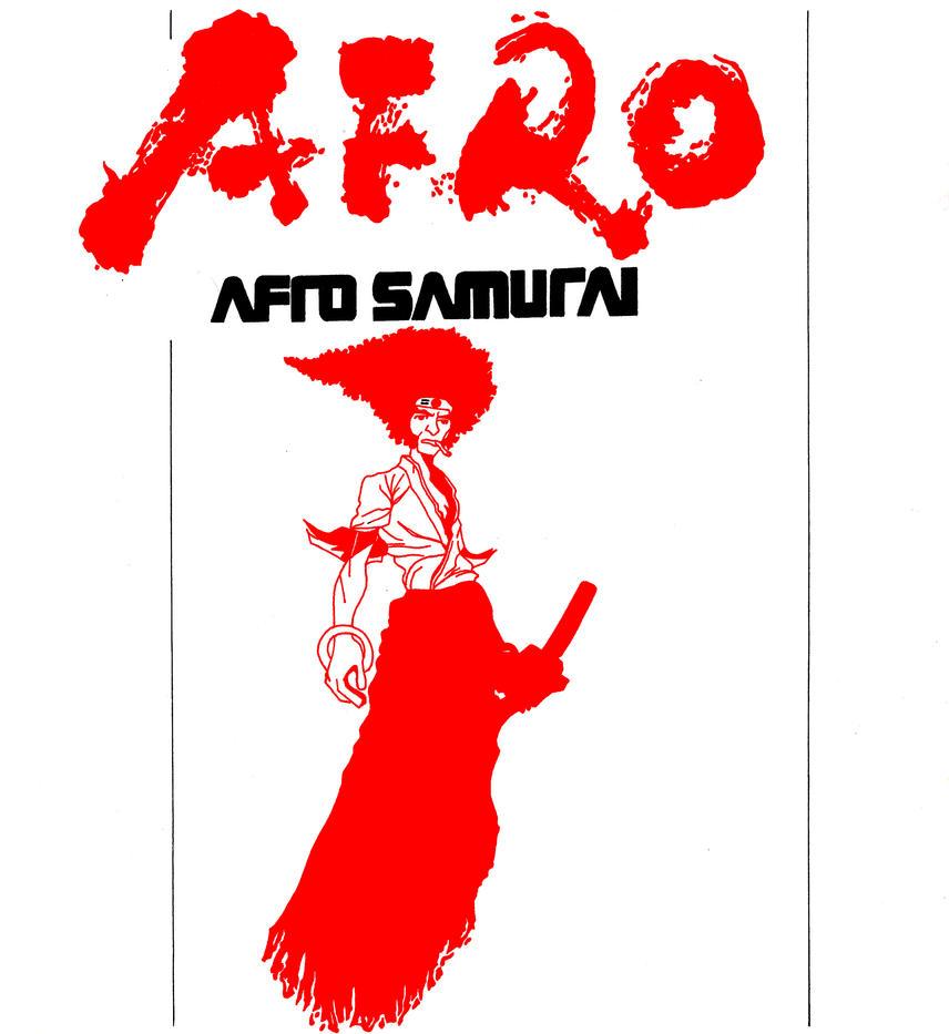 Afro Samurai by skyuuketsuki