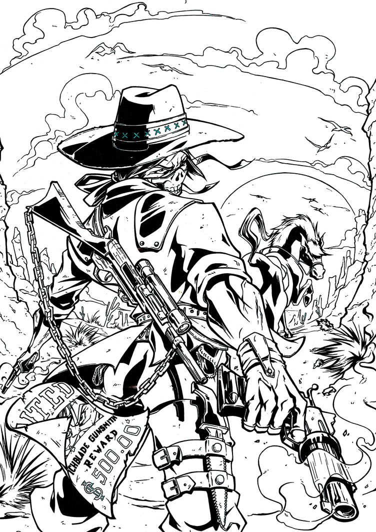 Witch Blade Inks by skyuuketsuki