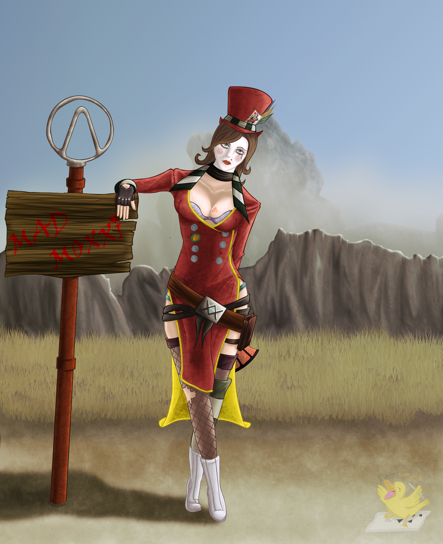 Mad Moxxi by piagetcanard
