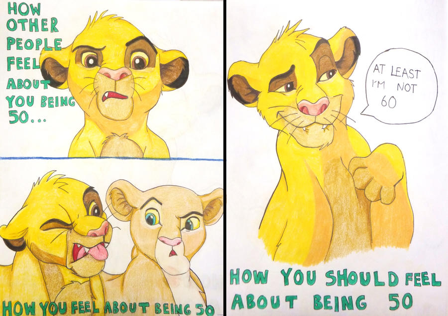 th birthday cardlion king by meegythemoo on deviantart, Birthday card