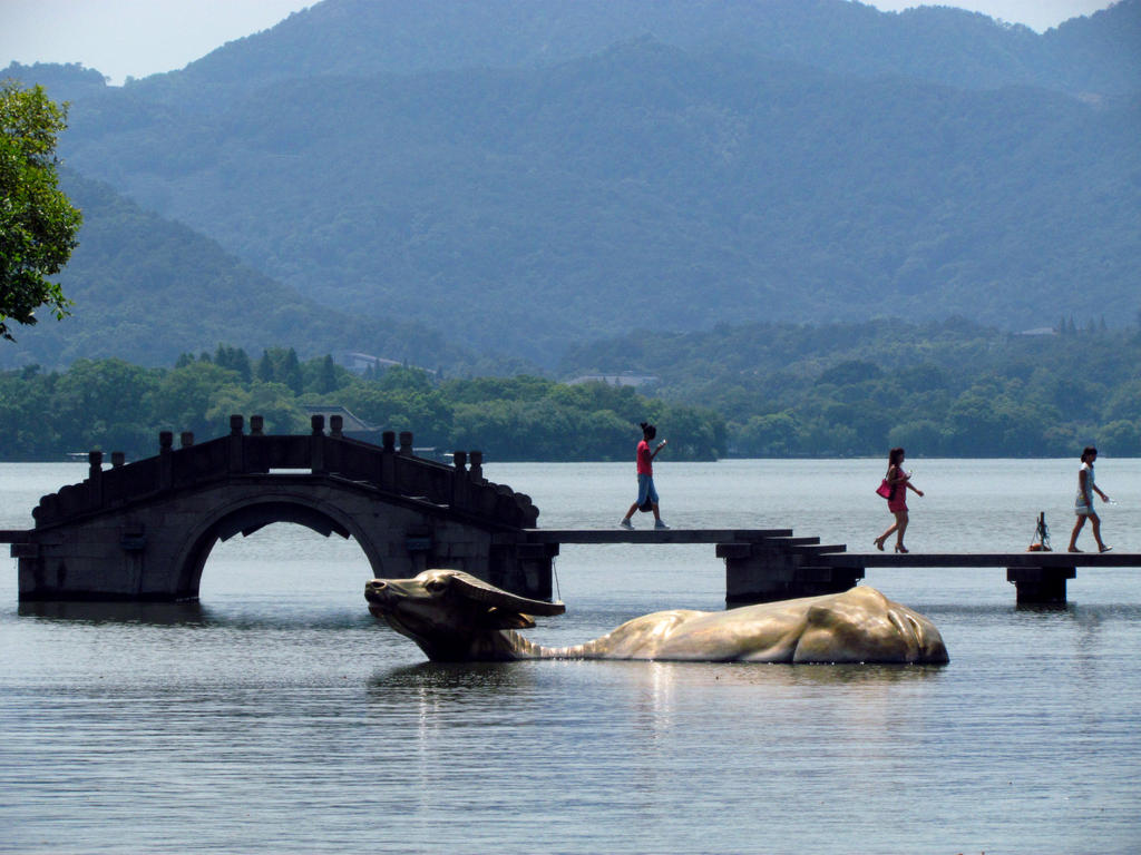 Bridge in West Lake by littlepleasureslife