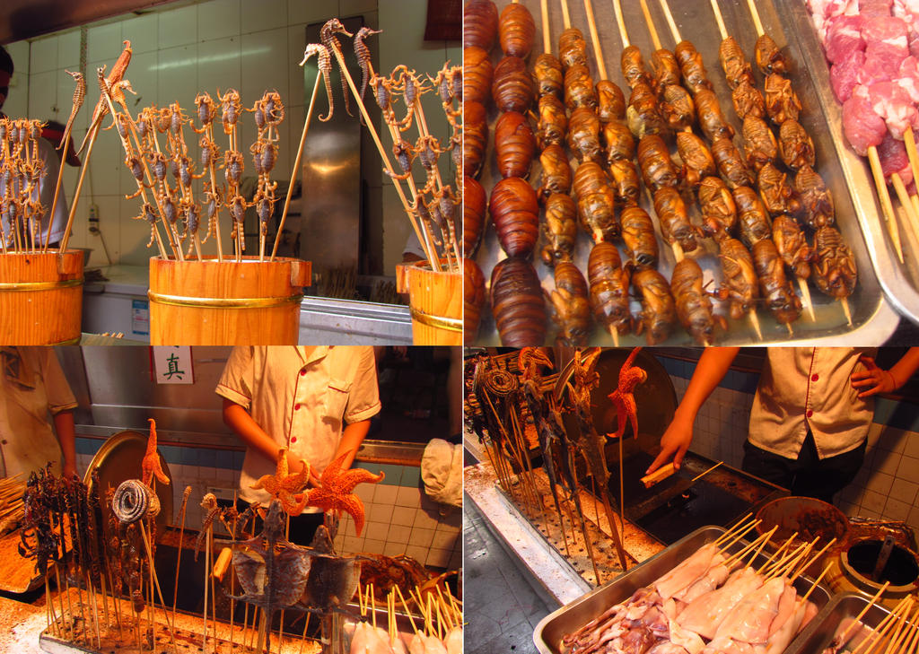 Beijing Food market by littlepleasureslife