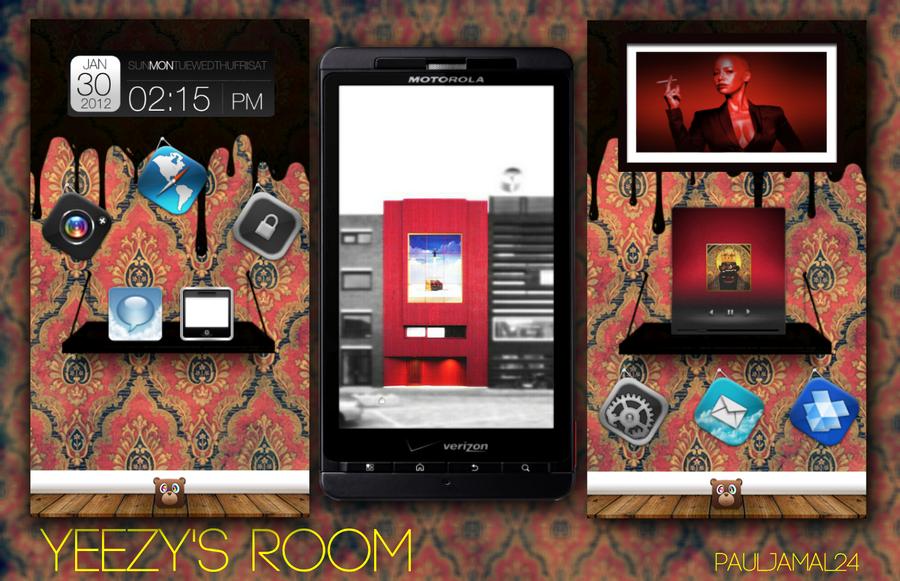 Yeezy's Room by PaulJamal24