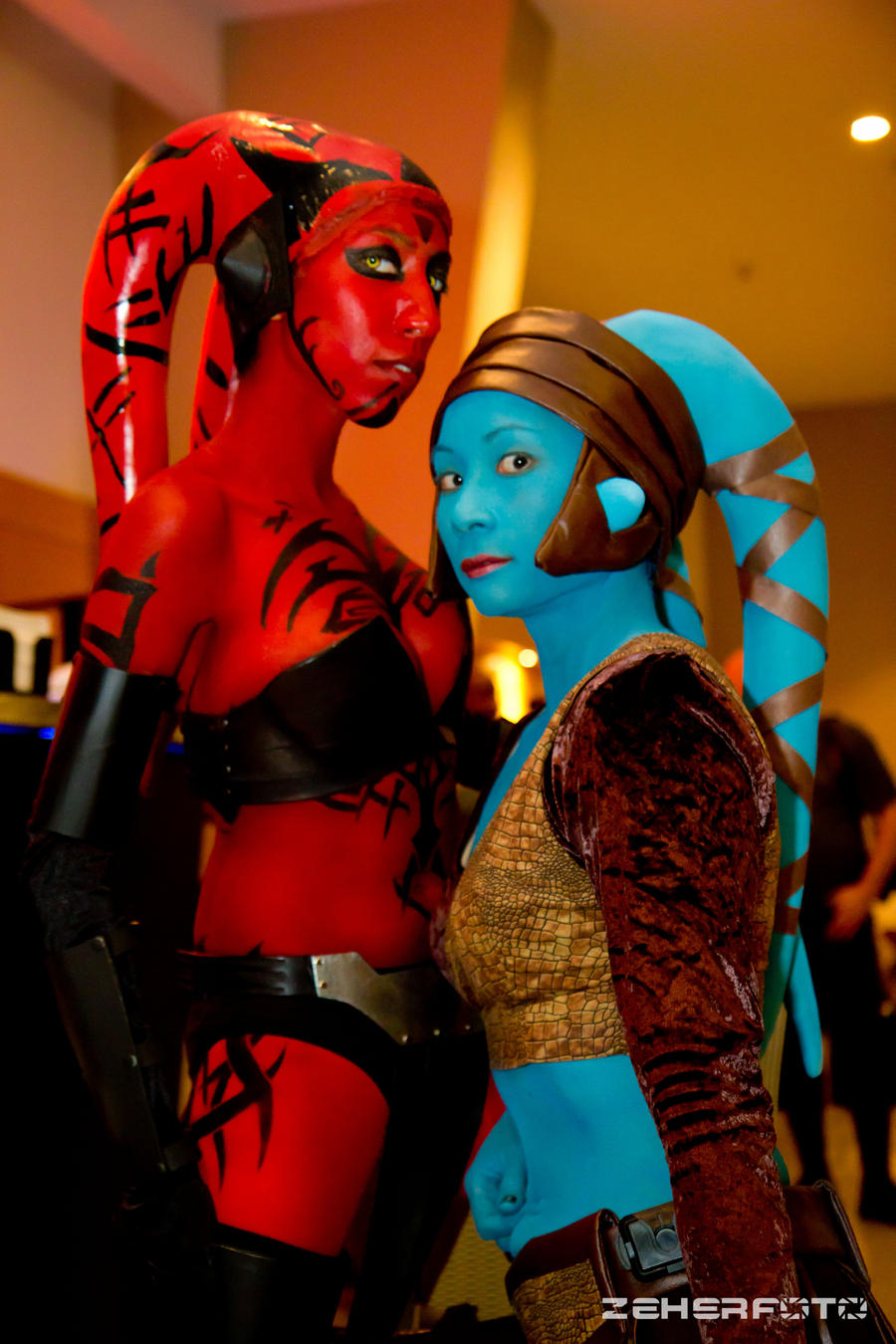 Talon and Aayla by TheChainmailChick