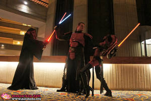 Ganner vs Sith by TheChainmailChick