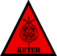 SCP Foundation: Keter Symbol (Warning) by Lycan-Therapy