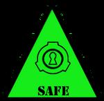 SCP Foundation: Safe Symbol (Warning)