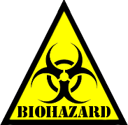 SCP Foundation: Biohazard Symbol by Lycan-Therapy