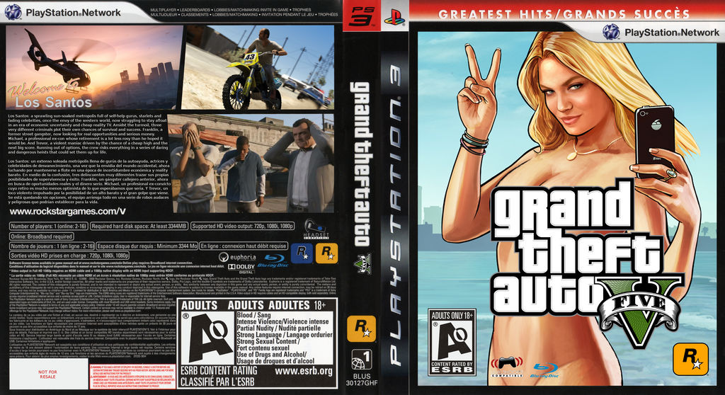 what is gta v rated