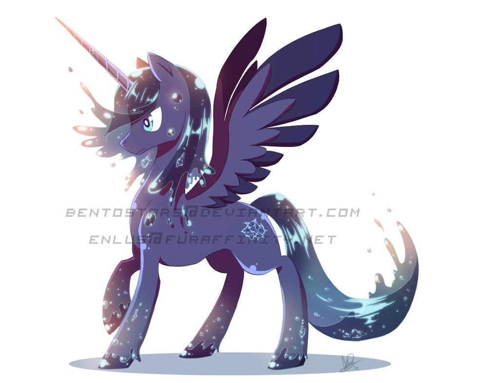 Water Alicorn Adopt (AUCTION OVER) by BentoStars