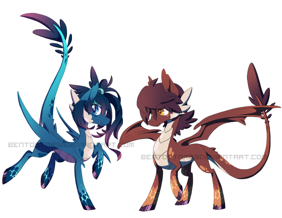 Dragon Ponies Auction (AUCTION OVER) By BentoStars On