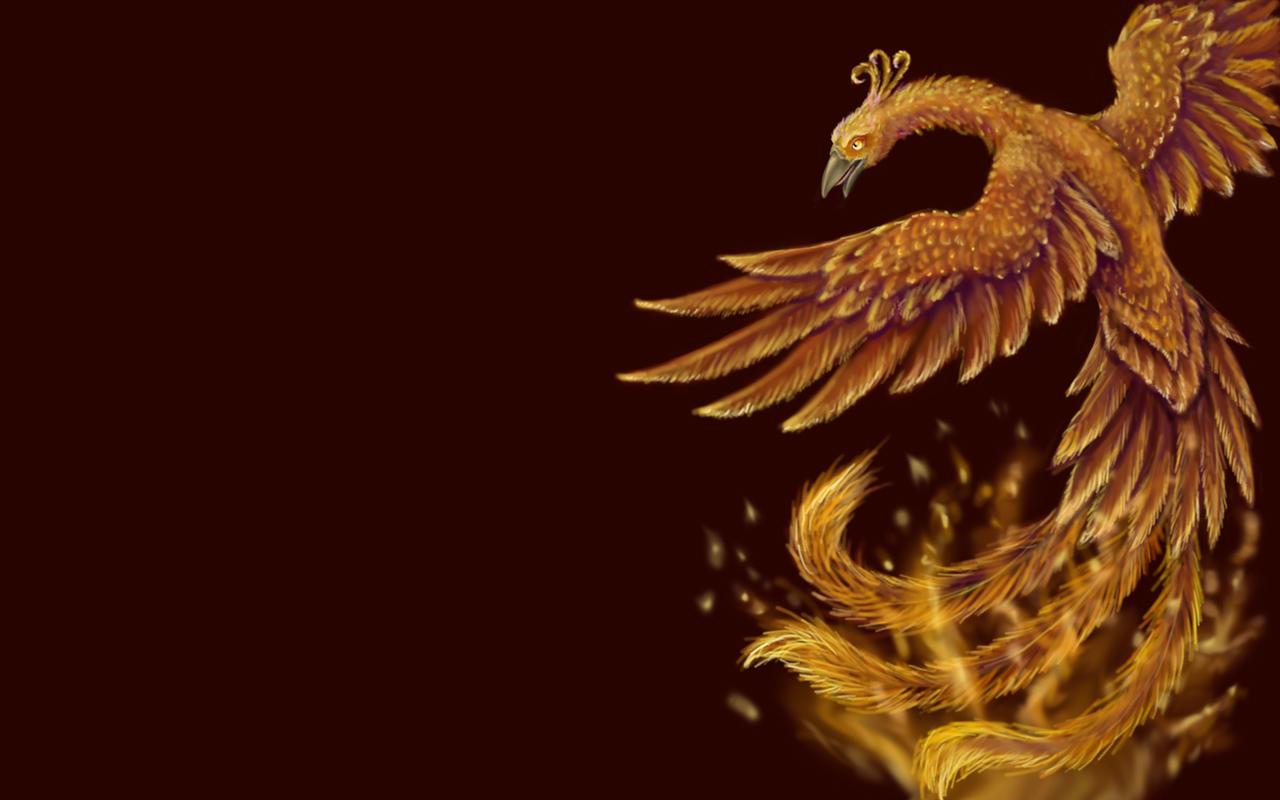Phoenix Wallpaper by Aurinona
