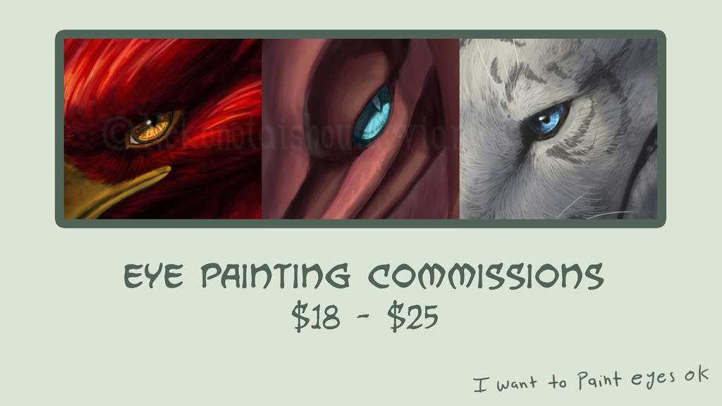 Eye Painting commission info