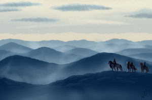 ROF - Rolling Fog Mountains by nekonotaishou