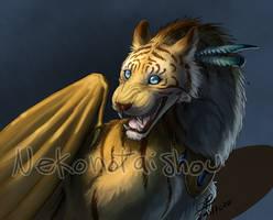Golden TigerDragon- re-painted