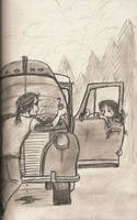 Working on the Truck by Poseidonadventurer