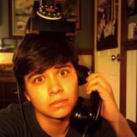 I can balance an antique phone by Poseidonadventurer