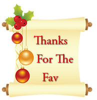 Thanks for the Fav Christmas by funkypunk2