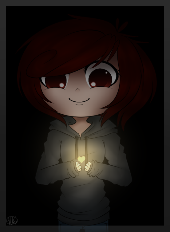 Find the Light Within the Dark by KiwiKuma