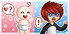 :PC: Bby and Andy Connectable Icons by KiwiKuma