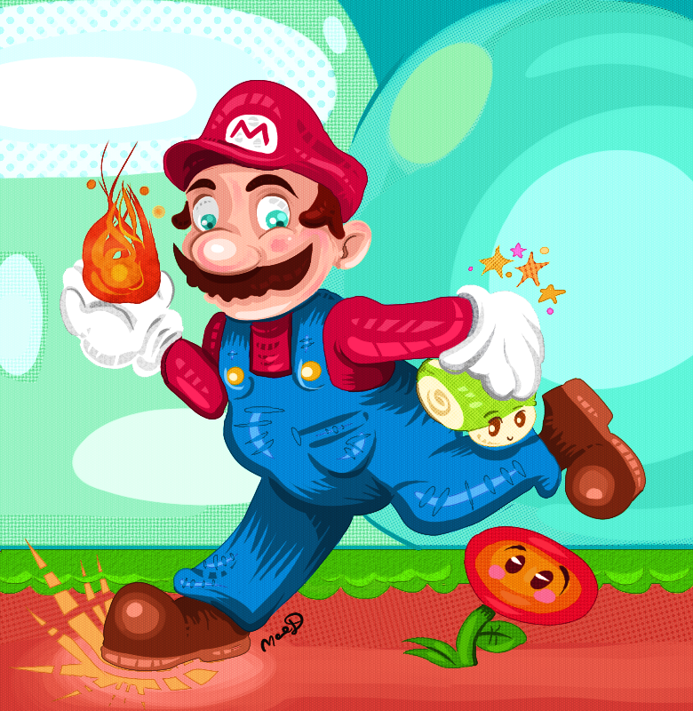 Mario by Kittengoo