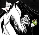 Queen Grimhilde - Inktober