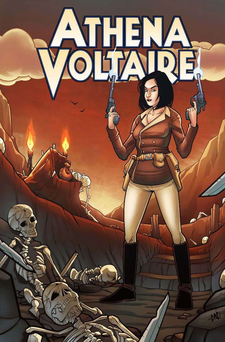 Athena Voltaire fan art by ccicconi