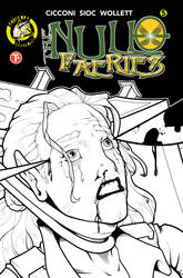 Null Faeries 5 cover inks