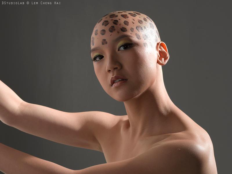 Leopard Woman by KathTea-Katastrophy
