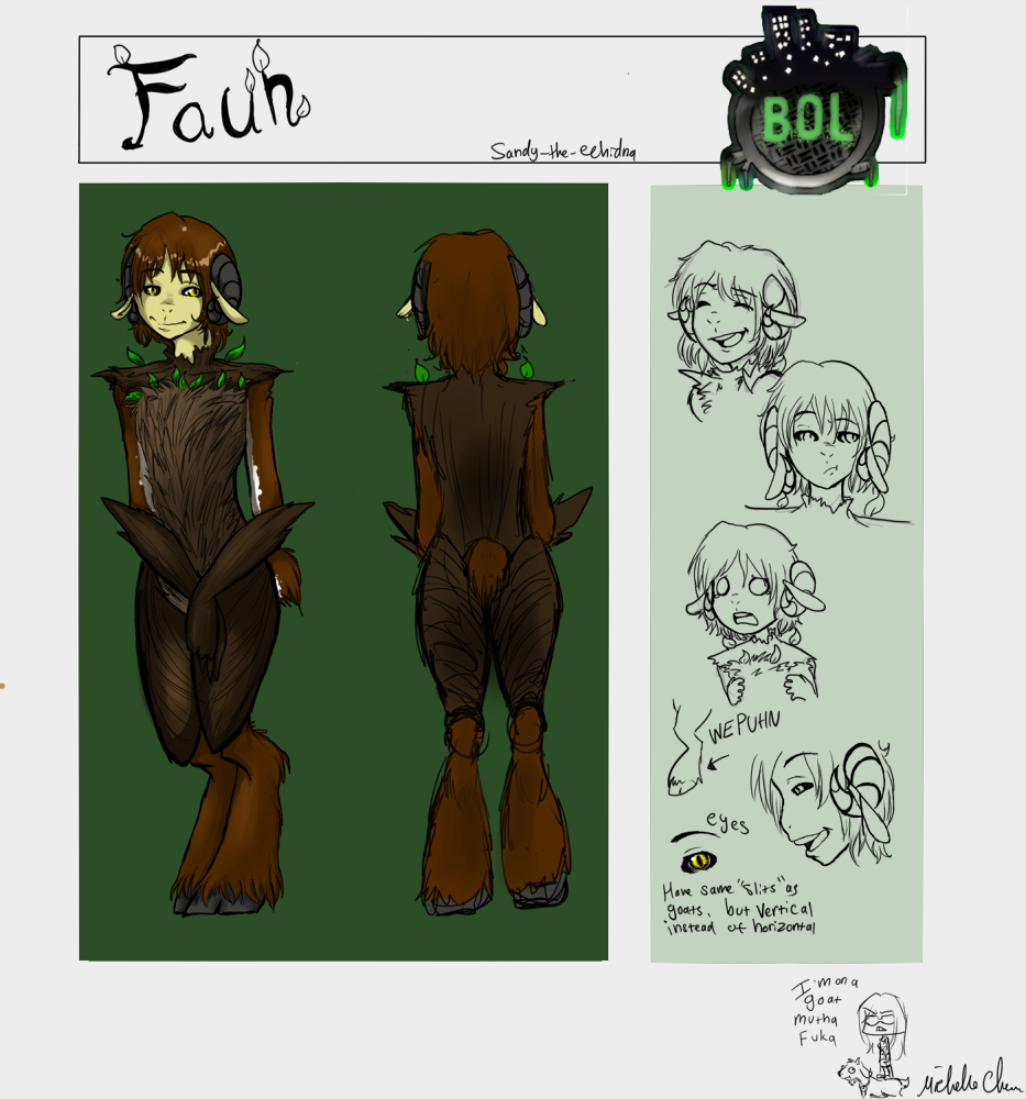 :: Faun BOL Ref Sheet :: by Sandy-the-echidna