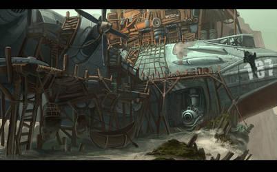 Metal Slug Re-imagined by EstevesLuis